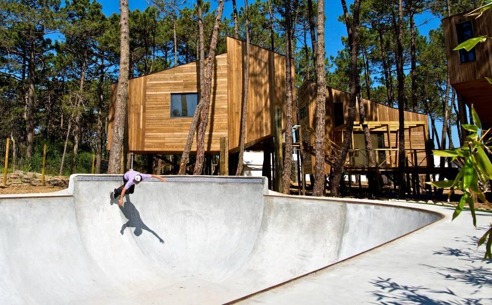 piscina de Skate
