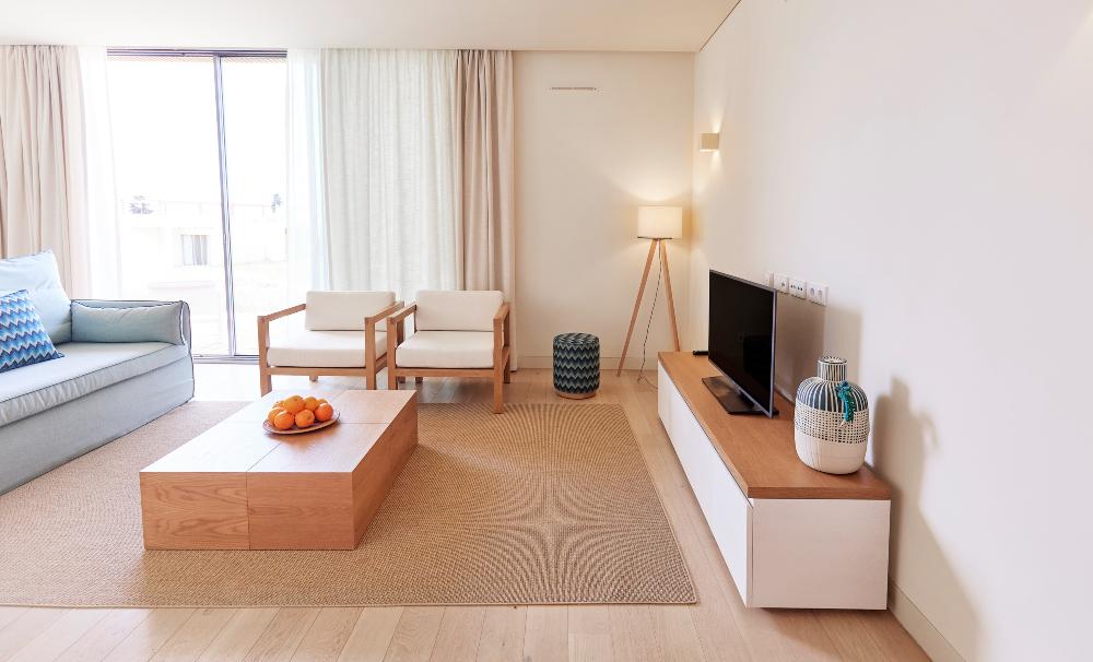 Interior apartamento White Shell